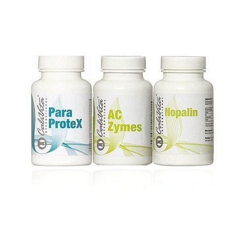 Zestaw Kuracja - Paraprotex, AC Zymes, Nopalin