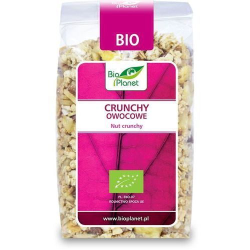 Bio Planet: crunchy owocowe BIO - 250 g, 4923