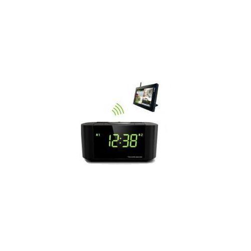 Szpiegowski budzik z kamerą EXCLUSIVE - podświetlenie IR + dodatkowa bateria