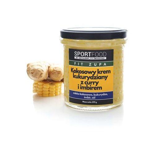 Kokosowy krem kukurydziany z curry i imbirem (5szt.) / soki coldpress / dostawa w 24h / detoks sokowy / dieta sokowa marki Sportfood