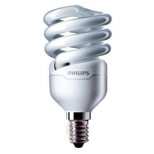 E14 12w żarówka energooszczędna tornado spirala marki Philips