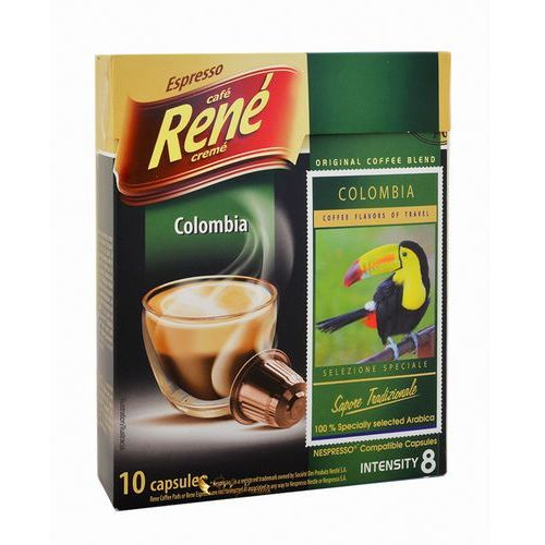 Rene Colombia Nespresso 10 kapsułek, 1678