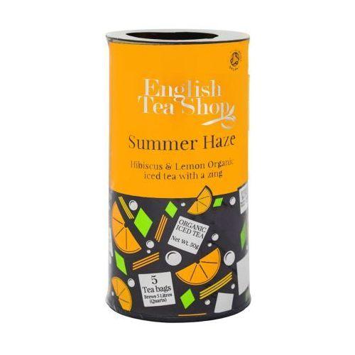 Ets summer haze herbata mrożona 5 saszetek marki English tea shop