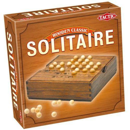 Tactic Gra solitaire wooden classic 14025 (6416739140254)