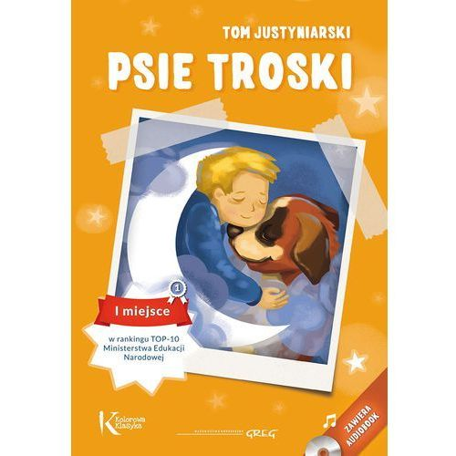 PSIE TROSKI KOLOR OP.+ AUDIOBOOK GREG 9788375175745 + zakładka do książki GRATIS