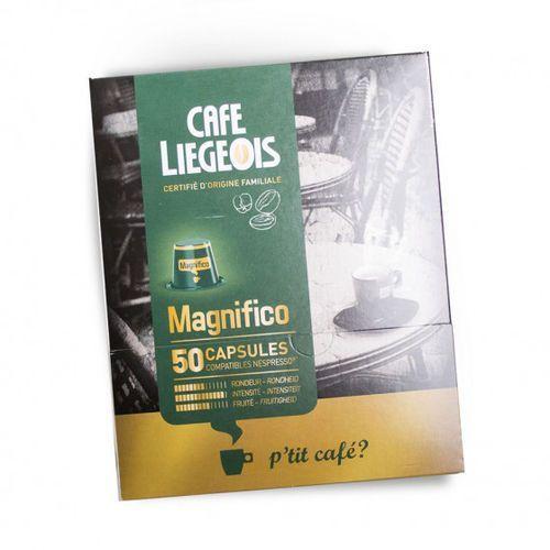 "Kawa w kapsułkach Café Liégeois ""Magnifico"", 50 szt."