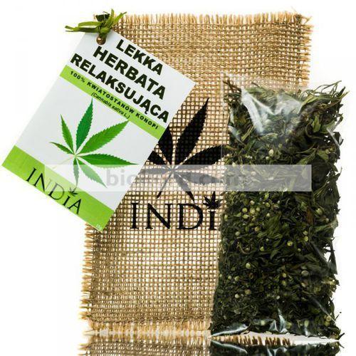 Lekka ziołowa herbata relaksująca, 15 g marki India cosmetics