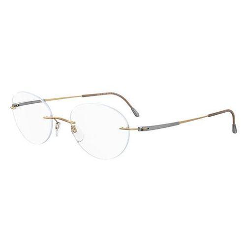Okulary korekcyjne titan dynamics 5212 6070 marki Silhouette
