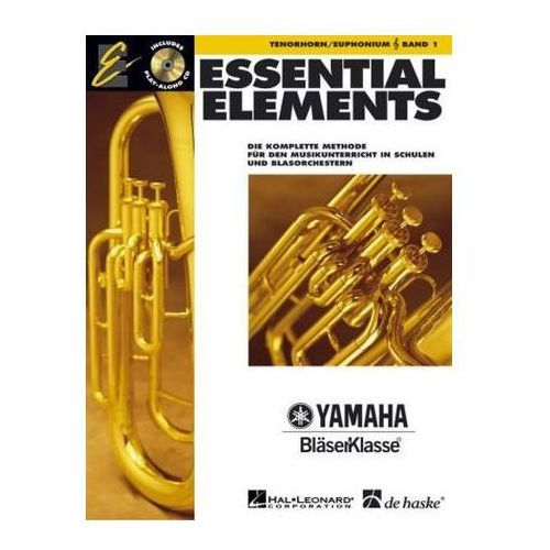 Essential Elements, für Tenorhorn/Euphonium in B (TC), m. Audio-CD. Bd.1