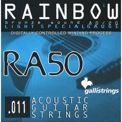 ra20 light special - struny do gitary akustycznej marki Galli
