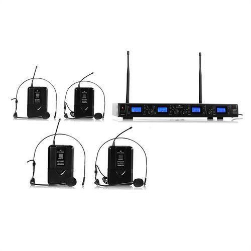 Auna Zestaw mikrofonów bezprzewodowych malone ukf-550-2 quartett2