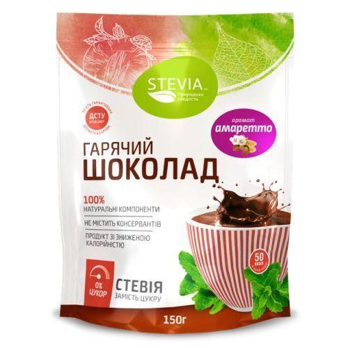 Gorąca Czekolada ze Stewią (Stevia), 100% Naturalna, 150 g Amaretto, 8021098