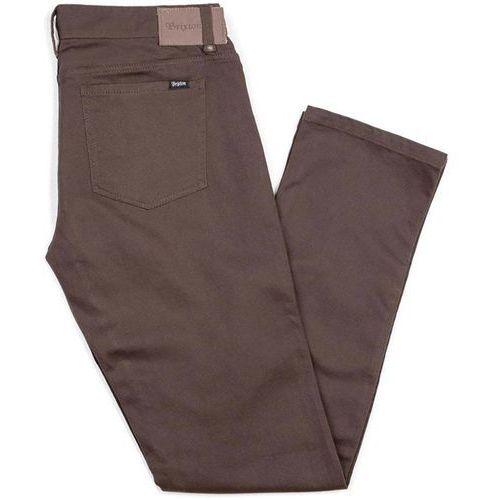 Brixton Spodnie - reserve 5-pkt pant brown (brown) rozmiar: 31