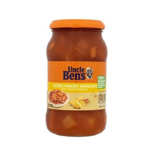 Uncle ben's Uncle bens 400ml sos ananasowy słodko-kwaśny