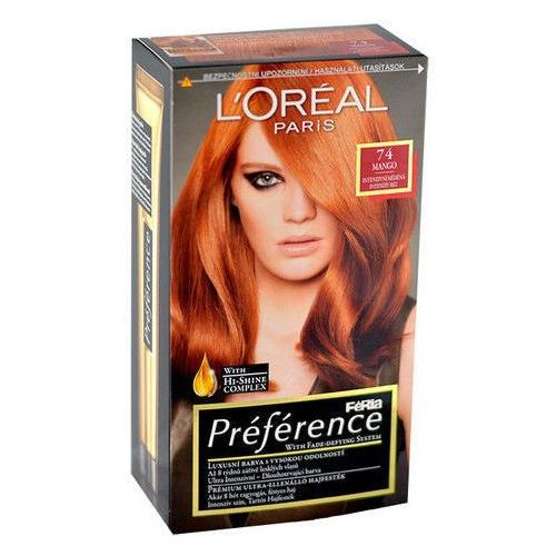 Préférence Féria Hair Colour 1szt W Farba do włosów 74 Mango, L´Oreal Paris