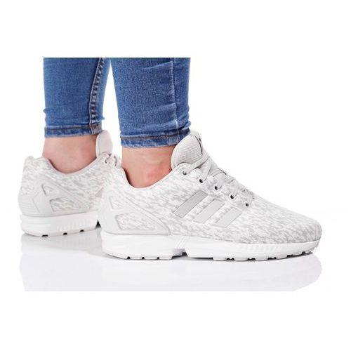 Adidas originals zx flux tenisówki i trampki grey one/footwear white (4058025613541)