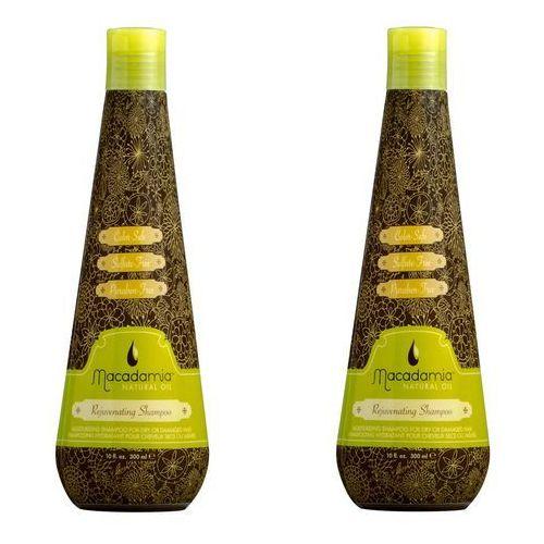 zestaw rejuvenating shampoo - szampon odmładzający do włosów 300ml x2 marki Macadamia