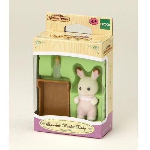 Sylvanian Families, dziecko królików z czekoladowymi uszkami, zestaw z figurką z kategorii domki dla lalek