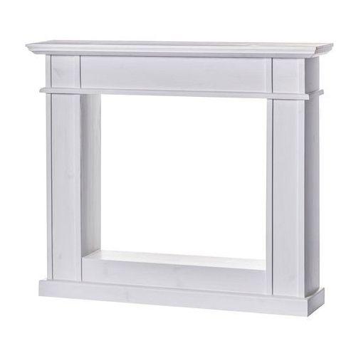 Dekoria Kominek Dave White 116,5x24x101cm, 116,5 × 24 × 101 cm
