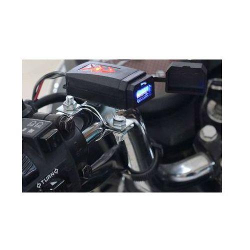 Toptel Wodoodporne motocyklowe gniazdo usb 5v 2,1a
