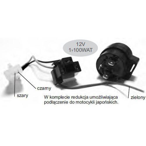 Ducati energia Clf010 przerywacz kierunkowskazów 12v 1-100w led i żarówkowych