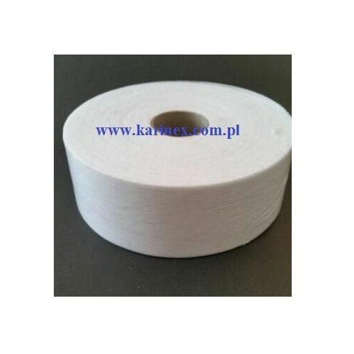 Vateks Taśma flizelinowa cieta po prostej 50 mm biała