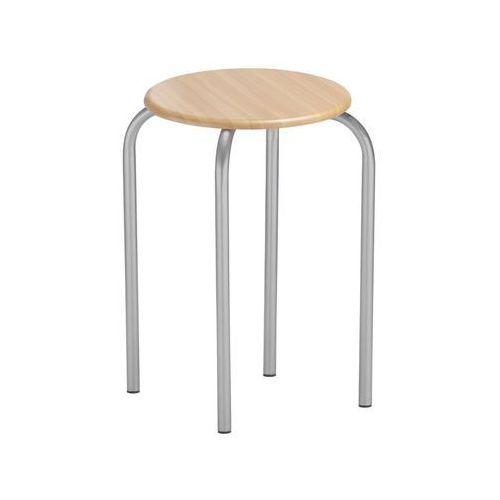 Nowy styl Taboret kuchenny siedzisko mdf buk salida alu (5903038197375)