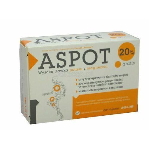 S-lab sp. z o. o. Aspot 60 tabl. ( 50 tabl.+10 tabl. gratis) (5900741961774)
