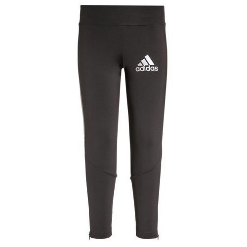 adidas Performance Legginsy utility black/reflective silver