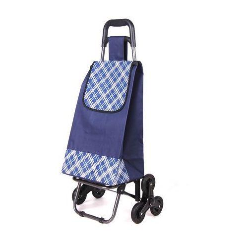 Wózek na zakupy z potrójnymi kołami 3K 03 (wózek na zakupy)