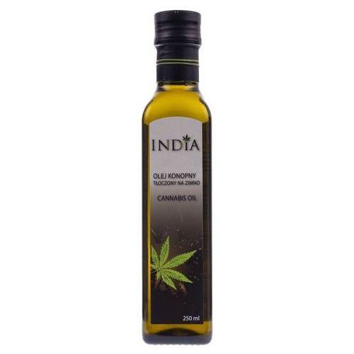 India cosmetics Olej konopny z pierwszego tłoczenia na zimno, 250 ml (4820184310056)