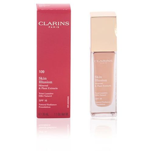 Clarins skin illusion mineral nr 109 wheat podkład w płynie.