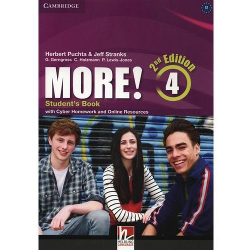More! 4 Student's Book with Cyber Homework and Online Resources, Cambridge University Press