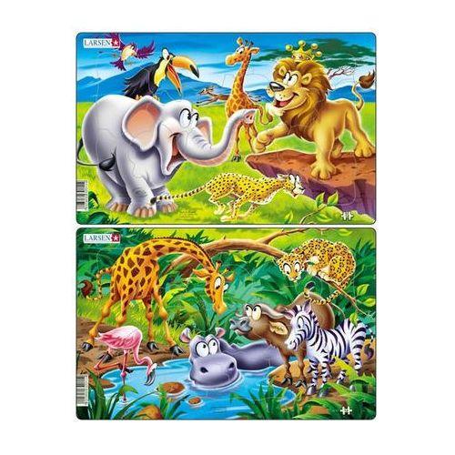 Puzzle midi - safari/14 dílků (2 druhy) marki Neuveden