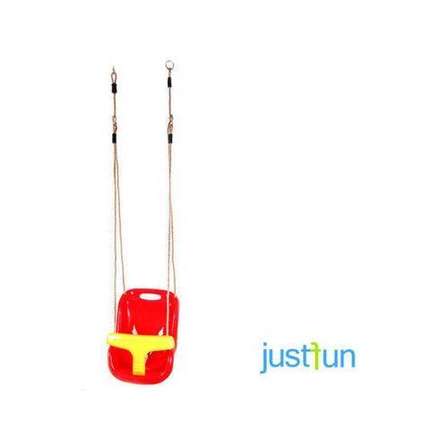 Huśtawka kubełkowa - czerwono-żółty - produkt dostępny w OTITU.PL