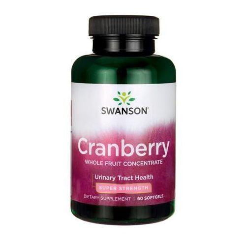 Kapsułki Żurawina ekstrakt 420mg Cranberry Whole Fruit Concentrate 60 kapsułek SWANSON