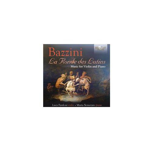 Bazzini: music for violin and piano - dostawa 0 zł marki Brilliant classics