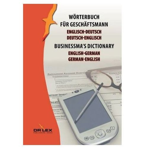 Businessma's dictionary english-german german-englisch - Dostawa 0 zł (9788379229833)