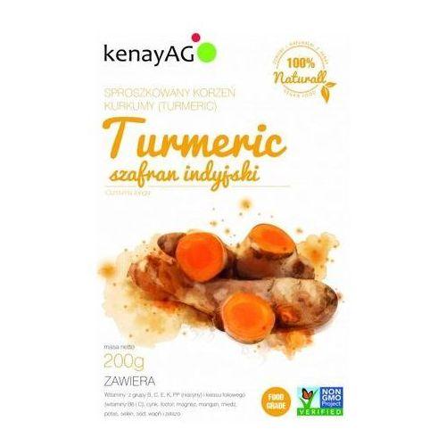 Turmeric-sproszkowany korzeń kurkumy 200g