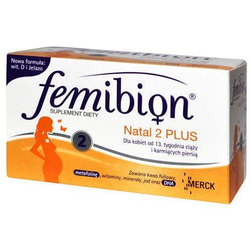Femibion Natal 2 Plus, tabletki, 30 szt + kapsułki, 30 szt (lek witaminy ciążowe)