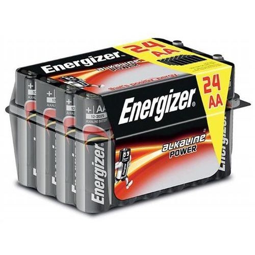 Bateria ENERGIZER Alkaline Power, AA, LR6, 1,5V, 24szt., EN-414660