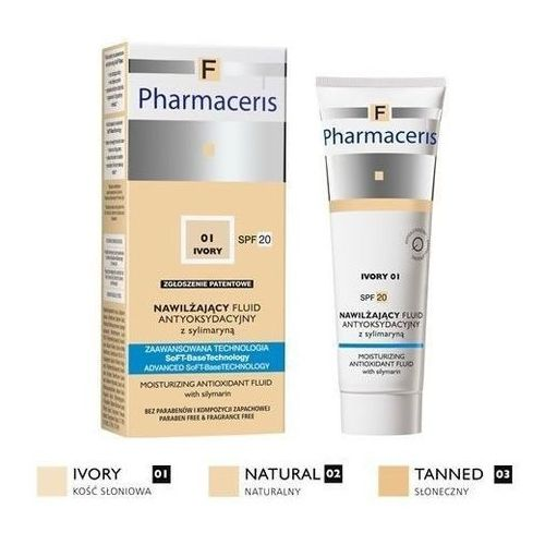 Pharmaceris f 02 natural nawilżający fluid antyoksydacyjny spf20 30ml marki Dr irena eris