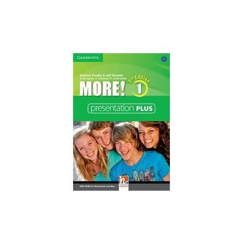 More! 1 Presentation Plus DVD-ROM (Płyta DVD) (9781107652057)