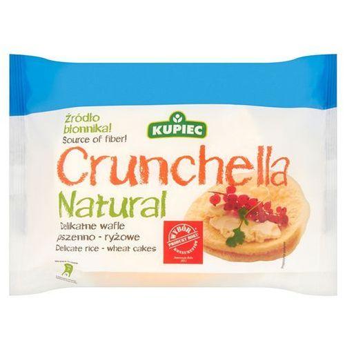 Delikatne wafle pszenno-ryżowe Crunchella Natural Kupiec 56 g