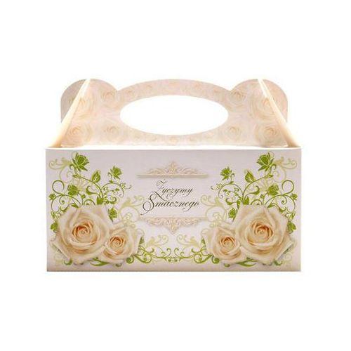 Ozdobne pudełko na ciasto weselne - 1 szt. (5907509918377)