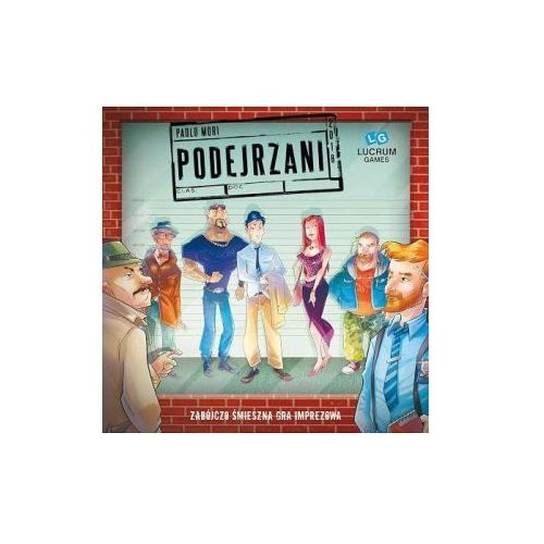 Lucrum games Podejrzani. gra planszowa