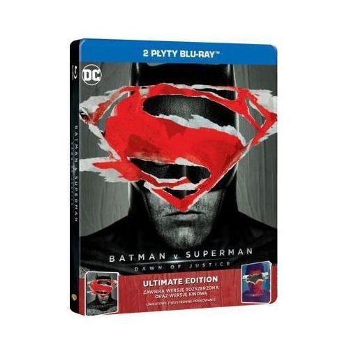 Batman vs superman: świt sprawiedliwości (2bd) ultimate edition steelbook (płyta bluray) marki Zack snyder