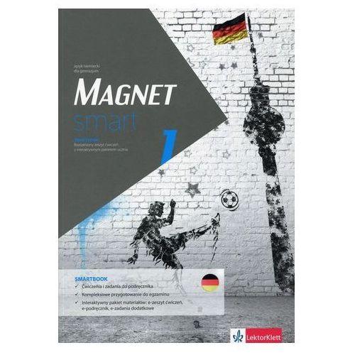 Magnet smart 1 Smartbook + DVD Rozszerzony zeszyt ćwiczeń z interaktywnym pakietem ucznia (9788377158029)