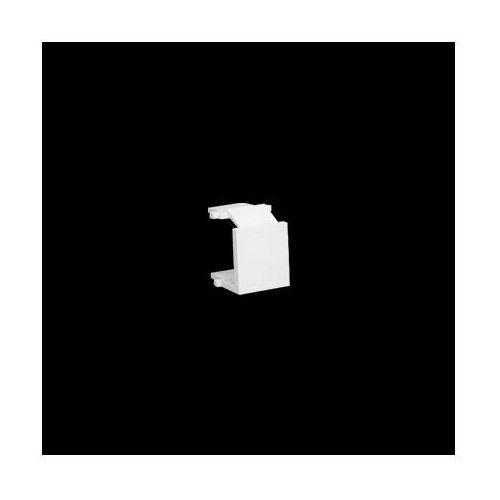 Zaślepka otworu wtyku RJ45/RJ12 do pokrywy gniazda teleinformatycznego; biały
