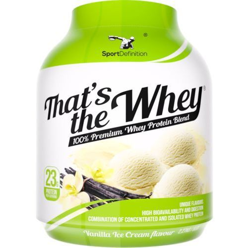 SPORTDEFINITION That's The Whey - 2270g